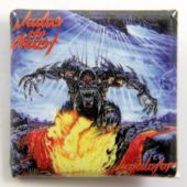 Judas Priest - 'Jugulator' Square Badge
